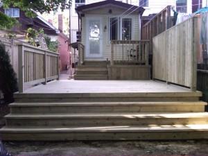 Rogers Road PT deck