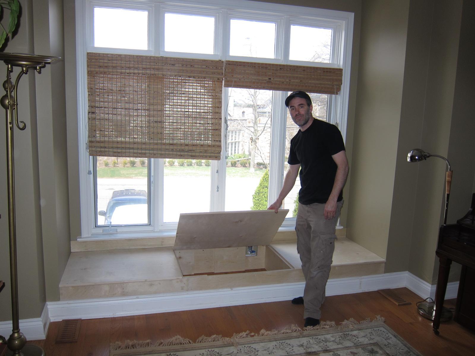 Window Seat Bbg Carpentry Inc